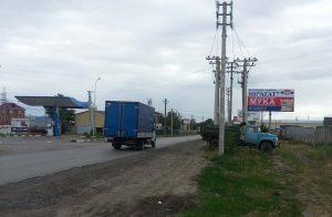 Батайск, Фермерская, 4, щит 2А. въезд в г.Батайск (р.Койсуг)