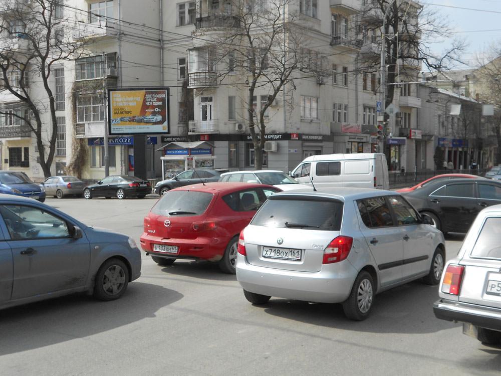 скроллер, Ростов
