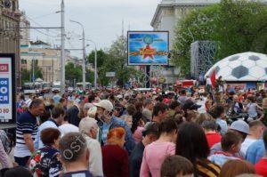 экран Большая Садовая Ростов