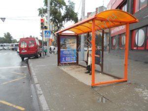 сити-форматы на остановках общественного транспорта Ростова