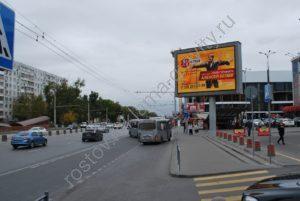 экран на пр. Нагибина у ТЦ Горизонт Ростов