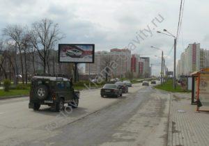 реклама на щите Еременко Ростов