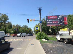 Рекламный щит на ул. Каскадная Ростов