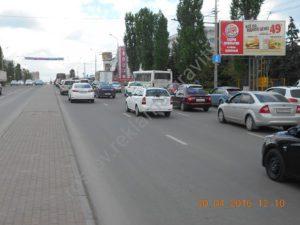реклама на пр. Космонавтов Ростов на Дону