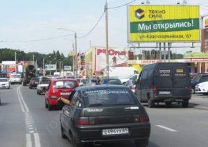 рекламный щит Малое зеленое кольцо Шолохова Ростов