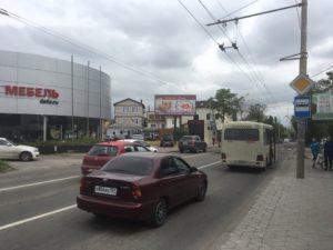 Реклама на щите Шеболдаева