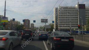 Реклама на пр. Нагибина Ростов 6х3