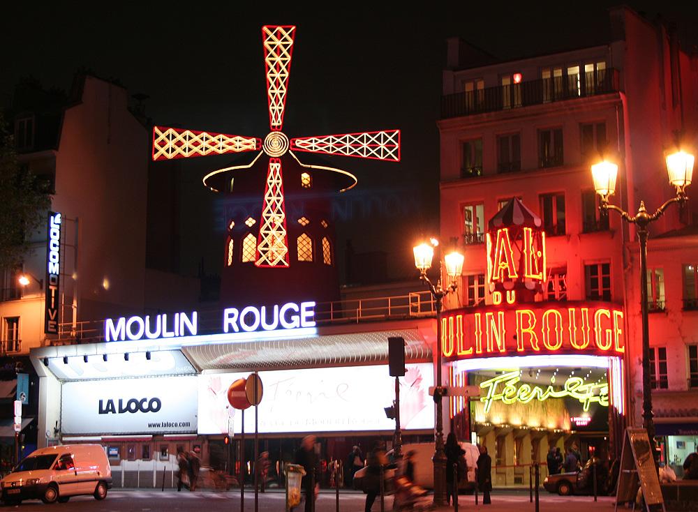 Муллен Руж Парижа