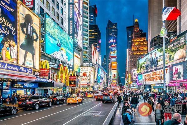 наружная реклама в Нью-Йорке