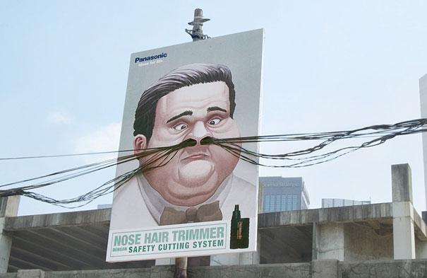 необычная реклама